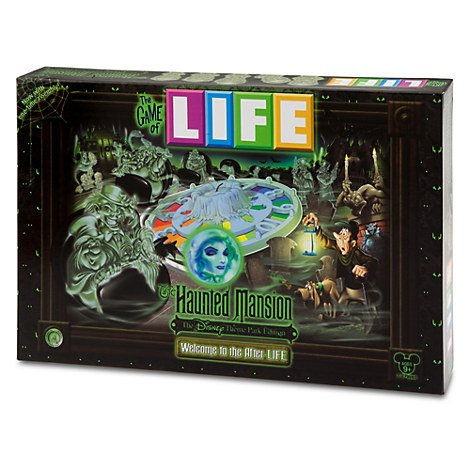Disney Theme Parks Exclusive The Game of Life Haunted