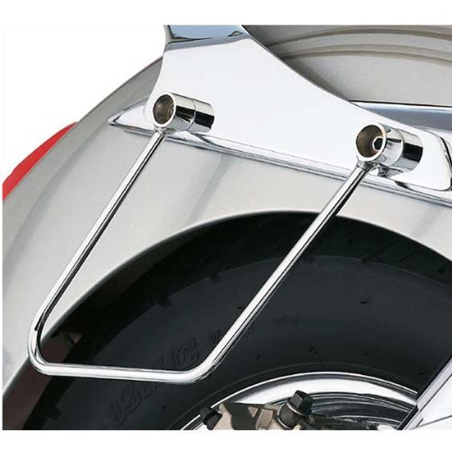 Cobra Chrome Saddlebag Supports for 2006-2010 Kawasaki VN900 by Cobra (Image #1)