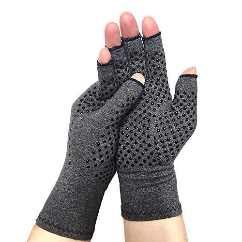 Arthritis Compression Gloves for Arthritis for Women Arthritis Pain Relief Gloves Fingerless Compression Arthritis Gloves for Men Women Arthritis