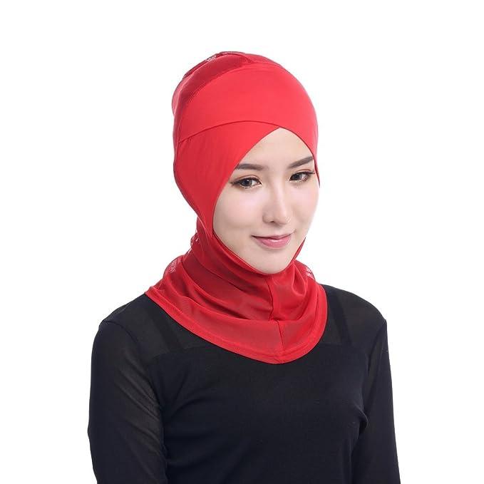 Amazon.com: Zhengpin Womens Under Scarf Hat Cap Muslim Bone ...