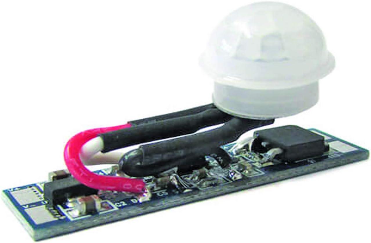 Sensore Di Movimento PIR Rilevatore Di Presenza 12V 24V 8A Per Profilo Alluminio Barra Led PIR Sensor Switch