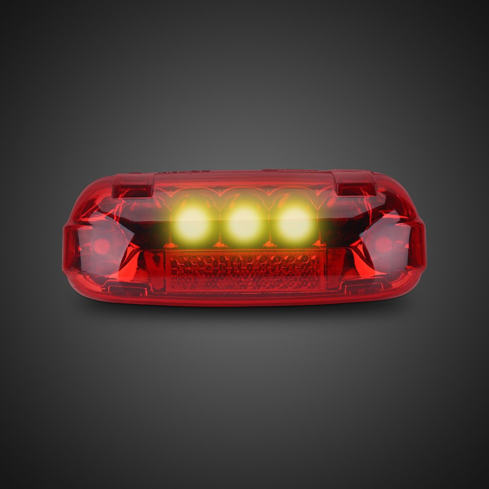 Electric Bicycle Rear Light 48V LED Brake Lamp Safety Warn Light for Scooters E-bikes by VGEBY (Image #1)