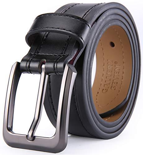 (Gallery Seven Leather Belts For Men, Classic Jean Belt, Mens Casual Belt 1.5
