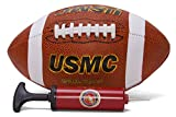United States Marines Football w/ Matching USMC Air Pump