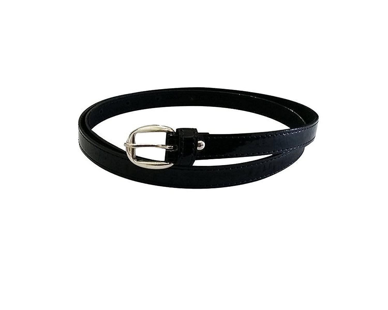 Devil Prime Girl's Black PU leather belt