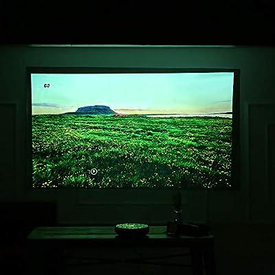 Docooler 69 Pantalla de proyector portátil HD 4: 3 69 Pulgadas ...
