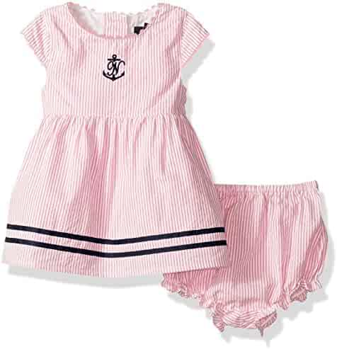Nautica Baby Girls' Seersucker Dress