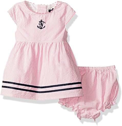 Nautica Baby Girls' Seersucker Dress