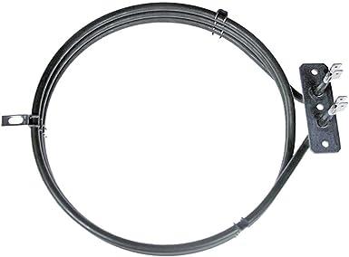 Pour adapter Smeg se335wh-5 ventilateur circulaire 2 700 W Four Element