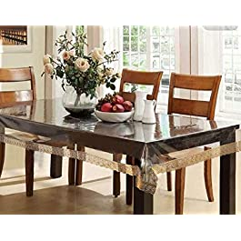 Best 6 Seater Transparent Dining Table Cover