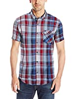 Levi's Men's Adamson Short-Sleeve Twill Shirt