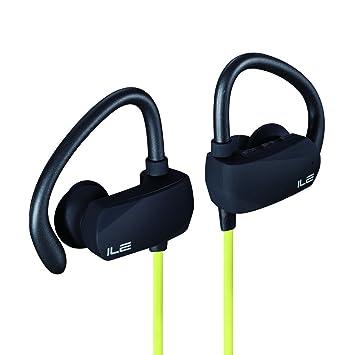 ILE Auriculares de Deportes Bluetooth In-Ear, Ligero a Prueba de Lluvia Bluetooth 4.1