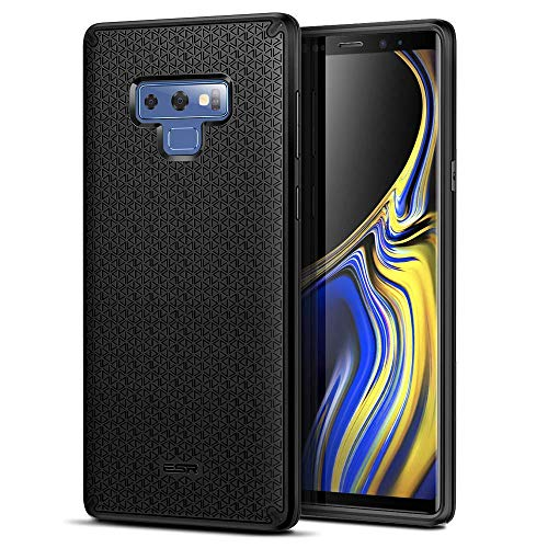 ESR Kikko Case Compatible for Samsung Galaxy Note 9, with Flexible and Secure Grip Design [Air-Guard Corners] [Easy Grip] for Galaxy Note 9 6.4 inch, Black
