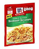 McCormick Garlic Butter Shrimp Scampi Seasoning Mix, 0.87 OZ (Pack - 4)