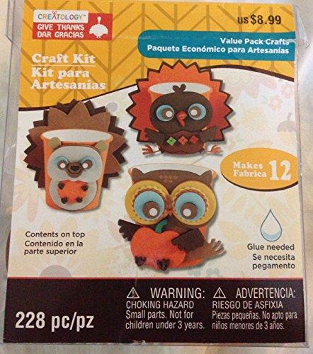 Creatology Craft Kit Give Thanks