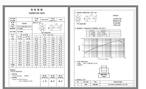 Wellcn 26 Pcs Ferrite Cores - EMI RFI Noise Filter Clip for 3mm/ 5mm/ 7mm/ 9mm/ 13mm Diameter-Black by Wellcn (Image #6)