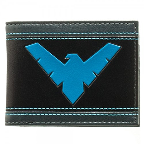 Wallet - DC Comics - Nightwing Bi-Fold New Toys Licensed mw3560dco   B016AVEI0U