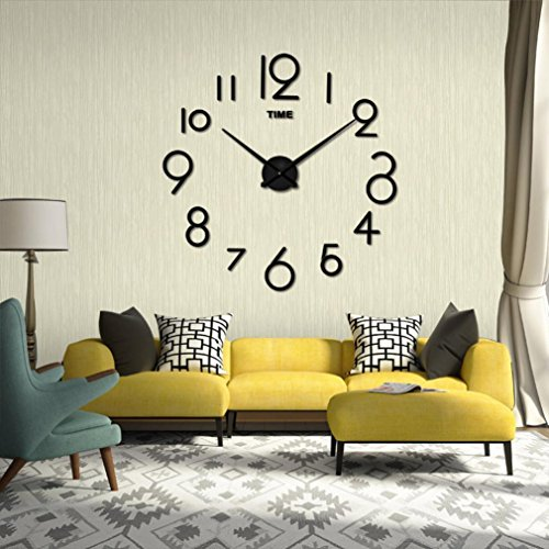 Hub Wall Clock With Led Light in US - 9
