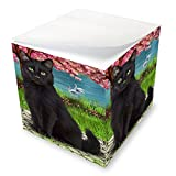 Black Cat Note Cube NOC51737