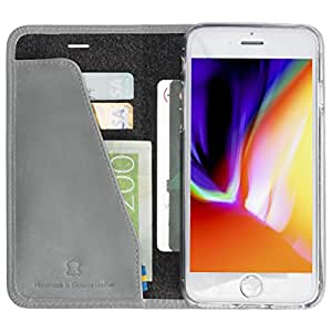 Krusell Folio Case for Apple iPhone 6/6S/7/8 - Vintage Grey