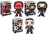 Funko POP! Daredevil (Season 2): Daredevil + Elektra + The Punisher – Marvel Vinyl Bobble-Head Figure Set NEW