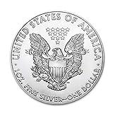 2020 Lot of (5) 1 oz Silver American Eagle BU In
