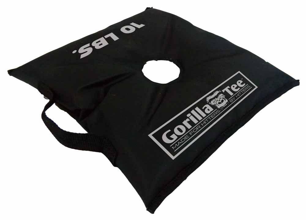 Gorilla-Tee Batting Tee Weight Bag, 10-Pound by Gorilla-Tee