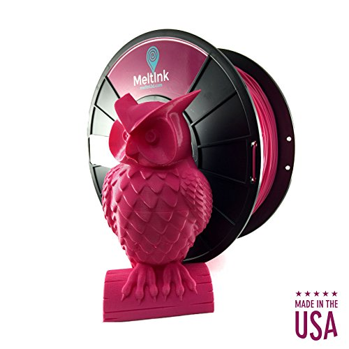 MeltInk3d Magenta 1.75mm PLA 3D Printer Filament 1Kg