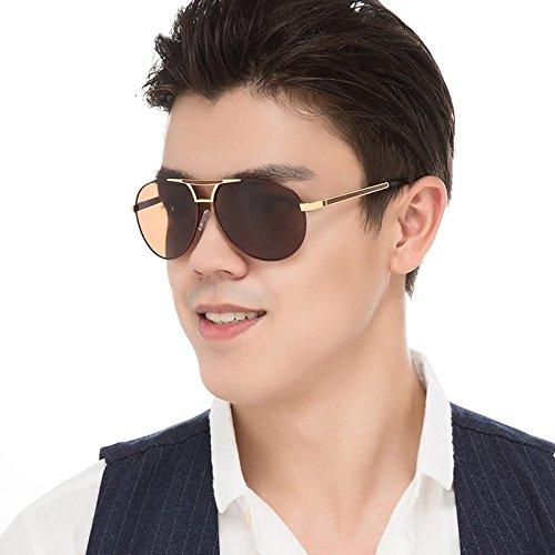 De Sol Hombres Gafas A Gafas Azul A Para Aviador Interior Polarizadas Guía TIANLIANG04 5XqfxTEE