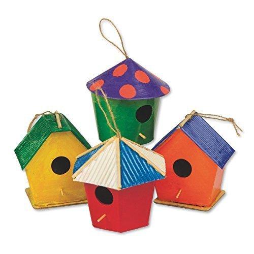 - Paper Mache Mini Birdhouses