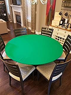 felt poker tablecloth cover for round tables 36 48 60 or 72 inch