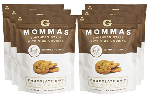ate Chip Cookies with Pecan - G Mommas Homemade Cookies - 6 (Pecan Cookie Basket)