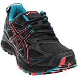 ASICS Women's Gel-Scram 3 Trail Runner, Anthracite/Black/Columbia Sea, 7.5 M US