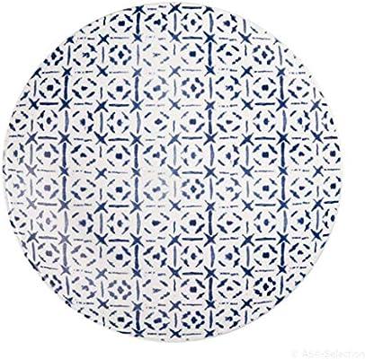 Asa Plato de Juego de 2 unidades Indigo 25,5 cm Azul, 18501087: Amazon.es: Hogar