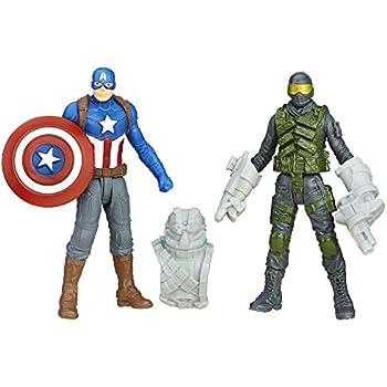 Marvel Captain America: Civil War Concept Series Captain America vs. Mercenary