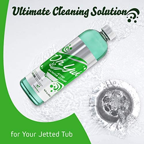 Oh Yuk Jetted Tub Cleaner for Jacuzzis, Bathtubs, Whirlpools, The Most Effective Jetted Tub Cleaner, Septic Safe, 4 Cleanings in keeping with Bottle - 16 Ounces