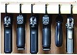 #3: Safety Solutions For Gun Storage Pack of 6 Original Pistol Handgun Hangers (Hand made in USA) (6 hangers)