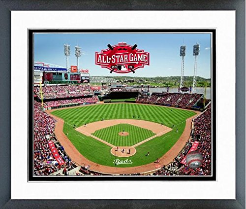 Cincinnati Reds Great American Ball Park MLB Stadium Photo (Size: 12.5