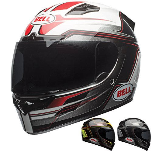 Bell Vortex Unisex-Adult Full Face Street Helmet (Marker Red/Black, Small) (D.O.T.-Certified) ()