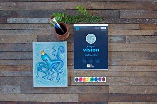 Strathmore 640-59 Vision Watercolor Pad, 9x12, 30 Sheets