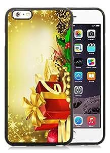 2014 Latest iPhone 6 Plus Case,Merry Christmas Black iPhone 6 Plus 5.5 TPU Case 42