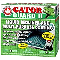 GATOR GUARD II EPOXY LIQUID BEDLINER KIT-WHITE
