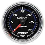 Auto Meter 6160 Cobalt Full Sweep Electric Boost Gauge