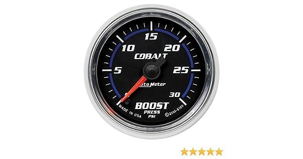 Auto Meter 6160 Cobalt Full Sweep Electric Boost Gauge