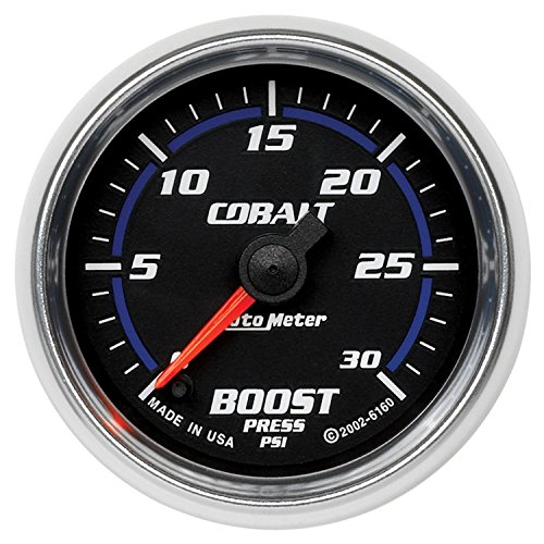 Auto Meter 6160 Cobalt Full Sweep Electric Boost Gauge by Auto Meter (Image #1)