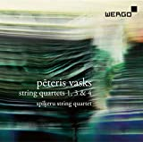 Vasks:String Quartets 1/3/4 [Sp??eru String Quartet] [Wergo: WER 73302] by Sp??eru String Quartet