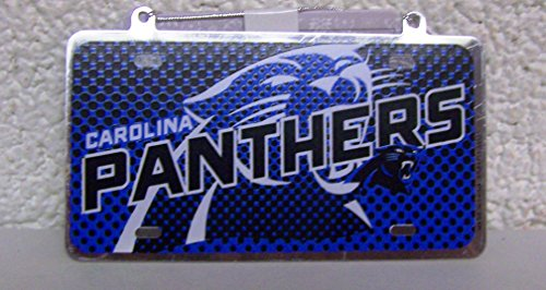 Panthers License plate Ornament