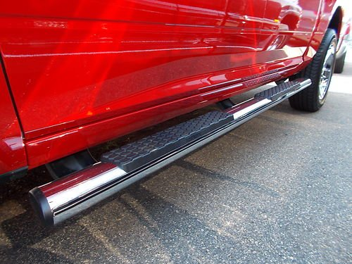 Dodge Ram 1500 Quad Cab Chrome Mopar Tubular Side Steps - 82211500AF - Dodge Ram Tubular Side Step