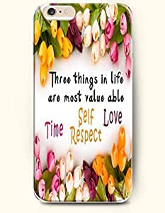 iPhone Case, SevenArc iPhone 6 (4.7) Hard Case **NEW** Case with the Design of Three things in life are most valueable...