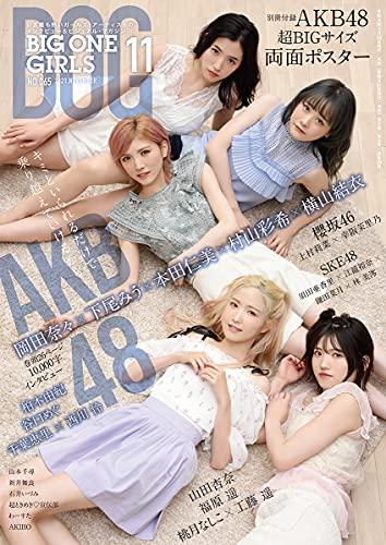 BIG ONE GIRLS 最新号 表紙画像